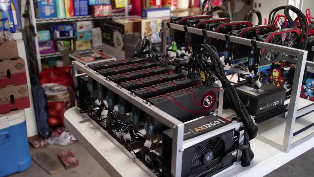 $10K and 15+Mhash Worth of Litecoin Mining Rigs - YouTube