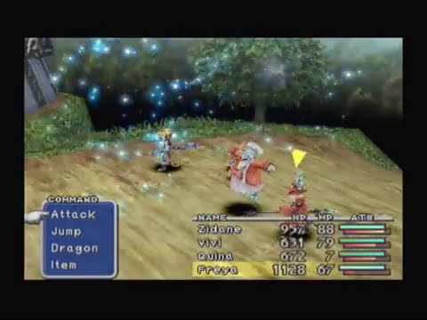 Final Fantasy 9 - Boss 10, General Beatrix