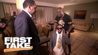 Stephen A. Smith takes on twin brother Cleveland A. Smith (Jamie Foxx) | First Take | ESPN