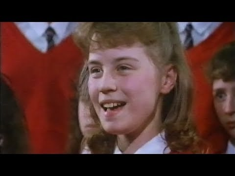 Denise Van Outen singing as a schoolgirl
