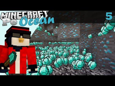 Minecraft Pe Ocean Am gasit diamante Ep.5 S.3