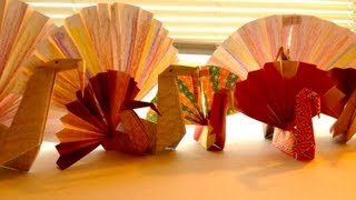 Simple Origami Turkey For Children