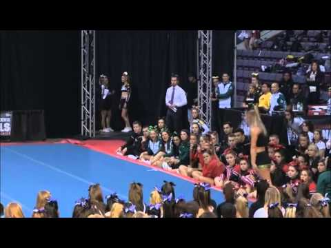University of Regina Cheerleading - PCA UONCC 2011 - Female Tumble Comp - Jenna
