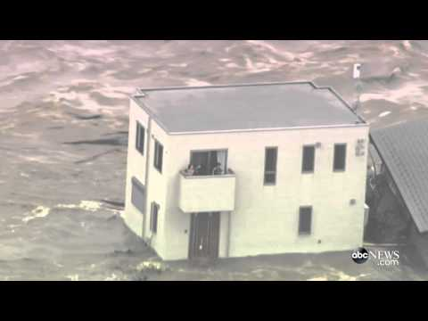 Flooding in Japan | House Swept Away