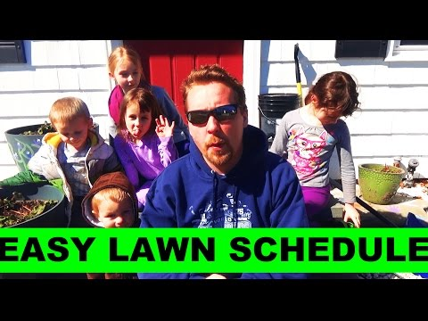 2017 EASY Lawn Care Schedule
