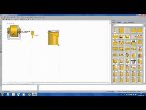 HSC Chemistry - Sim Tutorial - 2) Drawing a flowsheet
