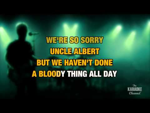 Uncle Albert/Admiral Halsey in the Style of