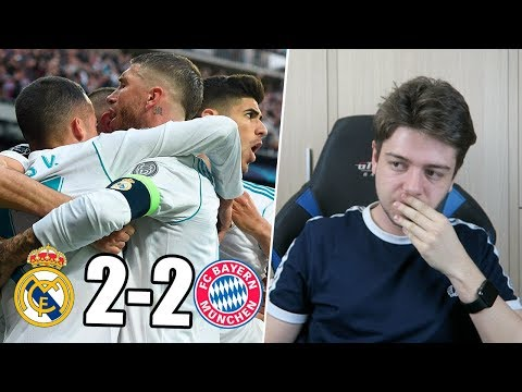 REACCIONANDO AL REAL MADRID 2-2 BAYERN MUNICH | Semifinal Champions League thumbnail