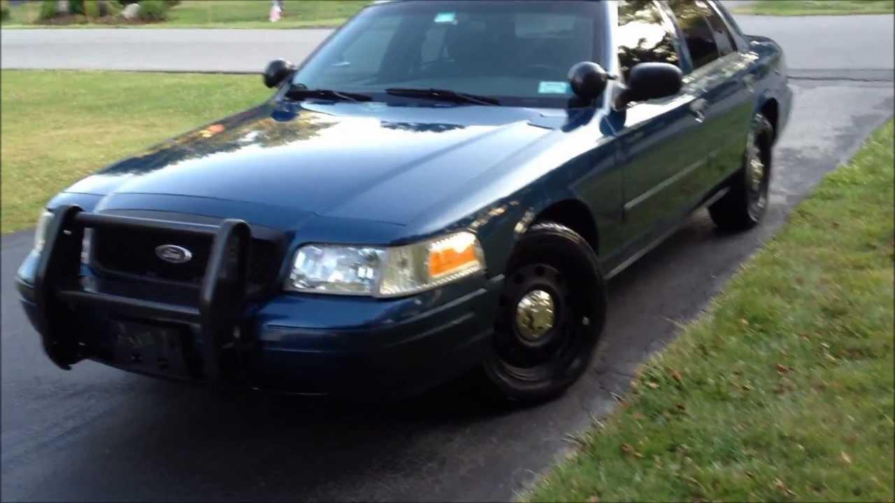 Ford Crown Victoria Police Interceptor CVPI - YouTube