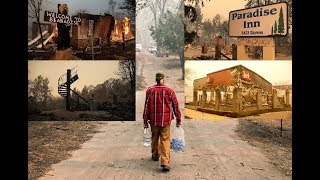 Whats Left after Paradise Camp Fire | Aftermath / Ruins | Over 100 People Missing