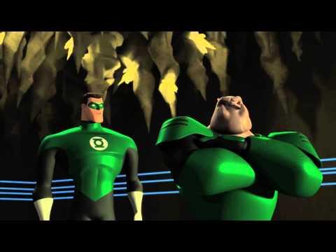 "2 - GREEN LANTERN: THE ANIMATED SERIES ""Razer's Edge"" Saturdays on Cartoon Network"