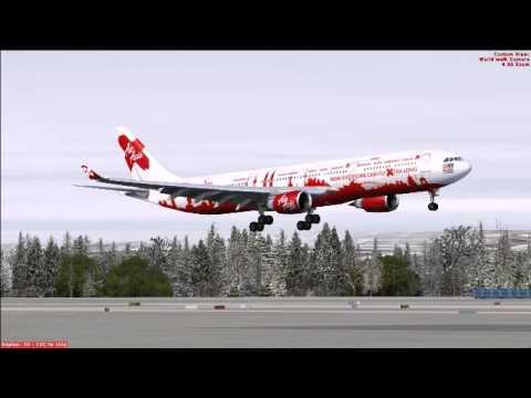 Airasia Fsx Fsx Airasia x A330-300