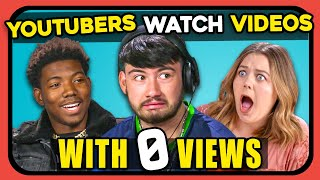 YouTubers React To Videos With LESS THAN 100 VIEWS