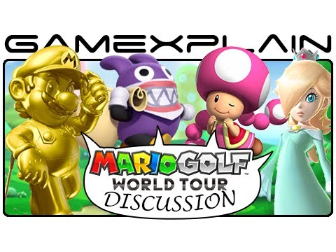 Is Nabbit Being Greedy? Mario Golf DLC & Season Pass Discussion (3DS)
