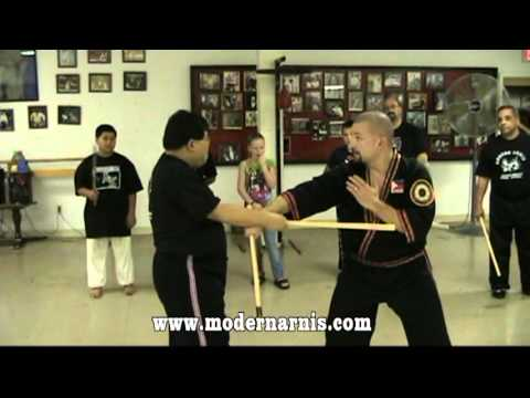 Modern Arnis live seminar with Dr. Remy Presas