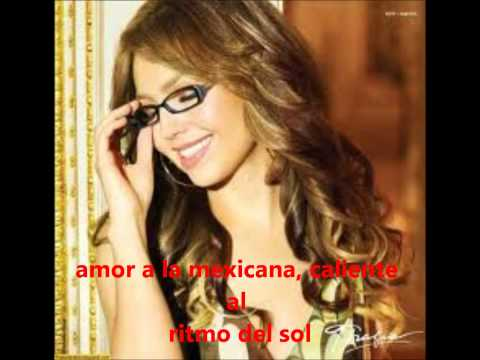 Thalia- Amor A La Mexicana.wmv video