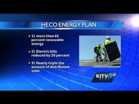 HECO releases energy plan, watchdogs react