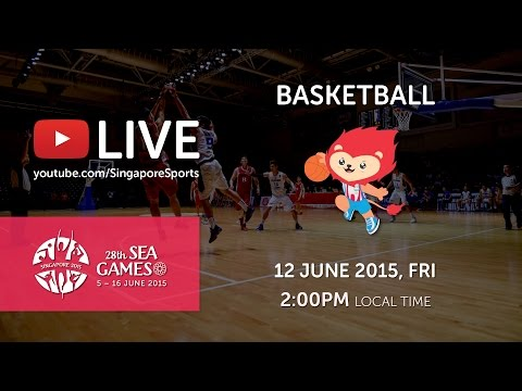 Basketball Men's Malaysia vs Indonesia (Day 7) | 28th SEA Games Singapore 2015