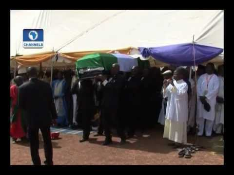 The burial of late Governor Of Kaduna State, Sir Patrick Yakowa