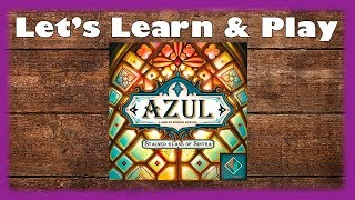 Let's Learn & Play: Azul: Stained Glass of Sintra
