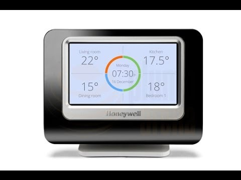 honeywell evohome wireless multi zone central heating. Black Bedroom Furniture Sets. Home Design Ideas
