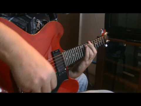 Status Quo - Anniversary Waltz (Guitar Cover)Rick Parfitt's Part