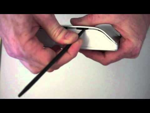 How to open a Seagate FreeAgent Desk external hard drive enclosure