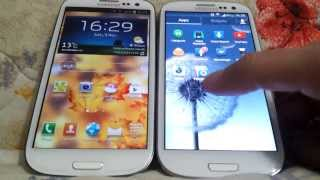 Galaxy S3 Android 4.3 vs 4.1.2