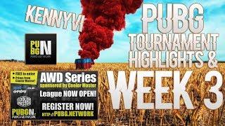 |PUBG| Tournament highlights/ Kills Week 3 | KennyVI