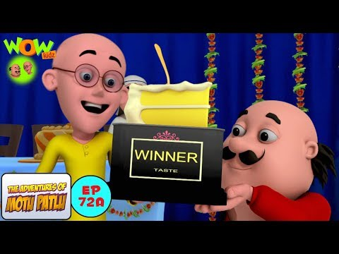 Cake Competition - Motu Patlu in Hindi - 3D Animation Cartoon for Kids thumbnail