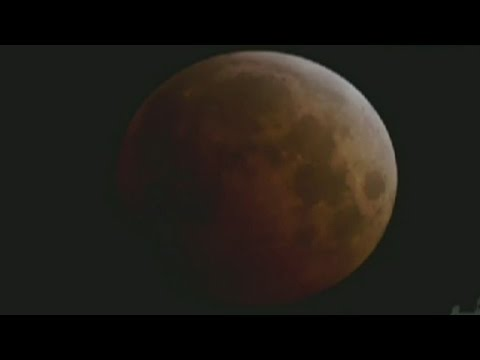 See lunar eclipse turn into blood moon
