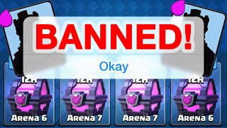 Clash Royale - BANNED - Too Many Magical Chests?