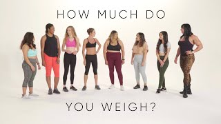 Women try guessing each other's weight | A social experiment