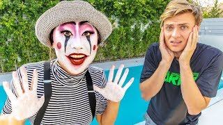 MIME CHALLENGE!! (IGNORING MY BOYFRIEND FOR 24 HOURS)