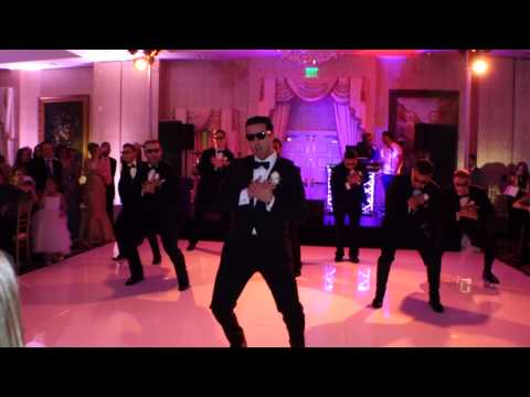 An Epic Surprise (w  Less Screaming): An Amazing Choreographed Wedding Dance video