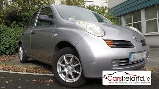 Download Nissan Micra 2003 - 2010 review | CarsIreland.ie 3Gp Mp4