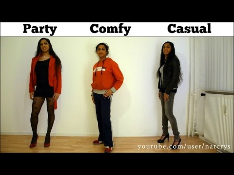 Crossdresser Choices  Comfy     Casual     Party