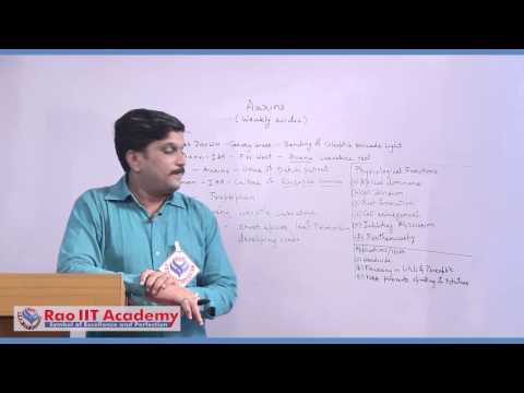 Plant growth Regulators I - NEET AIPMT AIIMS Botany Video Lecture [RAO IIT ACADEMY]