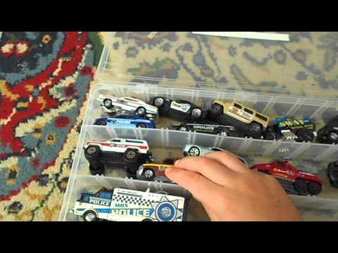 Matchbox police car review