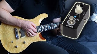 Smooth Synth-like guitar sounds from the Mooer Slow Engine - Demo / Review