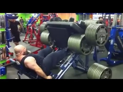 Worst Leg Press Ever ( My Reaction ) Image 1