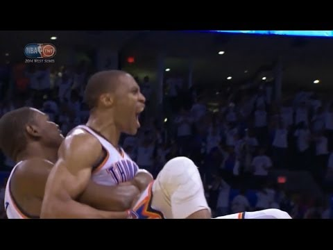 LA Clippers vs Oklahoma City Thunder 104-105: final minute | 2014 playoffs game 5