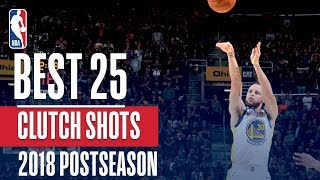 Best Clutch Plays of 2018 NBA Playoffs!