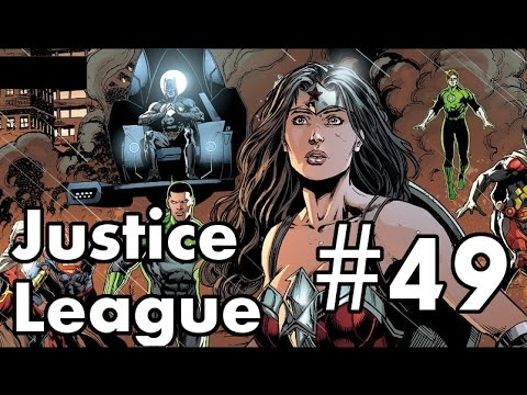 Justice League #49 Review/Recap. Mobius Vs Luthor