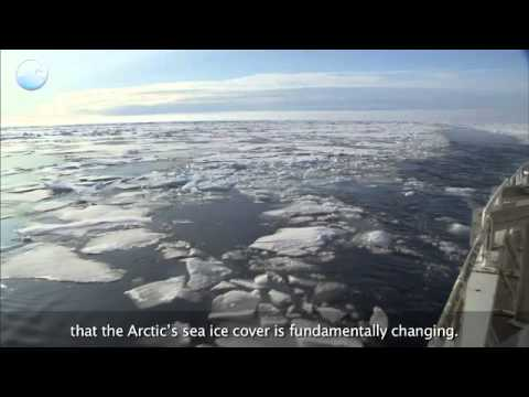 NOAA Ocean Today video: 'Arctic Sea Ice Sets Record Low' (2012 report)