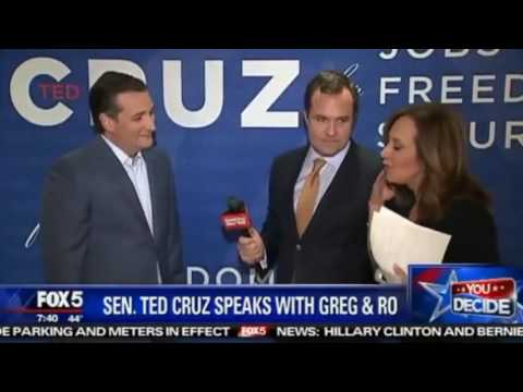 Reporter Tells Ted Cruz He Won't Win New York After Fiery Exchange Regarding NY Values