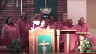 """He's So Real In My Soul Today"" Barnes Chancel Choir"