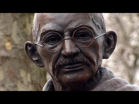 Gandhi statue unveiled in Parliament Square, London