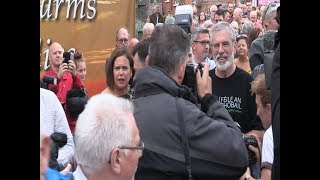 Mary Lou slams cowards who attacked the homes of Gerry Adams and Bobby Storey
