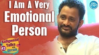 I am Very Emotional All the Time - Resul Pookutty || Kollywood Talks With iDream